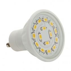 Výkoná Led žárovka Kanlux LED15 SMD C 5W 400lm GU10-WW teplá bílá  - AKCE
