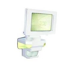 Panlux VANA S venkovní reflektorové svítidlo se senzoremem a LED přisvícením, bílá - teplá bílá