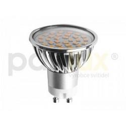 Výkoná Led žárovka Panlux LED SMD C30 GU10 4W 410lm teplá bílá