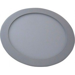 Svítidlo vestavné Greenlux LED90 VEGA-R Silver 18W WW teplá bílá (GXDW053)