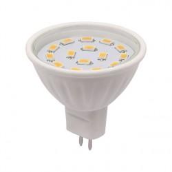 AKCE - Výkoná Led žárovka Kanlux LED15 SMD C MR16 CW 400lm studená bílá