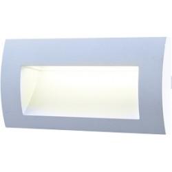 AKCE vestavné Led svítidlo Greenlux WALL 20 3W GRAY CW studená bílá (GXLL004)