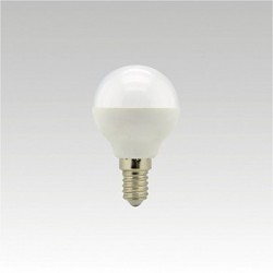 Led žárovka NARVA LQ5 LED G45 240V 5,5W E14 3000K NBB teplá bílá