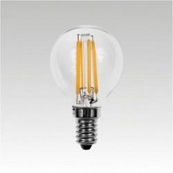 AKCE - Led žárovka LQ-F LED P45 230-240V 4W E14 3000K 400lm Narva teplá bílá