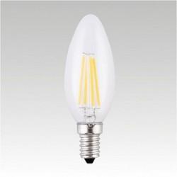 Led žárovka LQ-F LED B35 230-240V 4W E14 3000K 400lm Narva teplá bílá