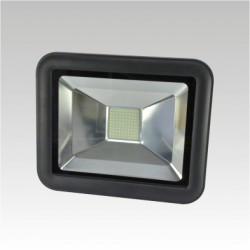 AKCE - Výkoný Led reflektor NARVA ORION LED 240V 50W 6000K IP65 black, studená bílá