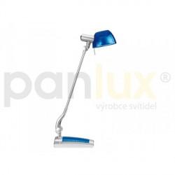 AKCE - Panlux GINEVRA UNO stolní lampička, modrá
