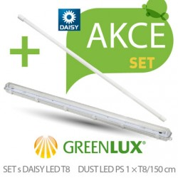 Akční SET Greenlux SET DUST DAISY LED PS 1xT8 150 (GXWP268)