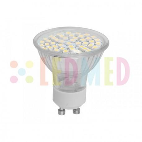LED žárovklas Panlux LEDMED SMD 48LED světelný zdroj 230V 2,5W GU10 - teplá bílá DOPRODEJ