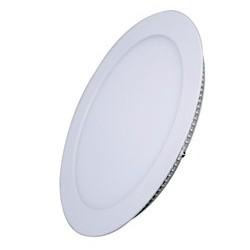 Solight LED mini panel, podhledový, 6W, 400lm, 3000K, tenký, kulatý, bílé, teplá bílá (WD101)