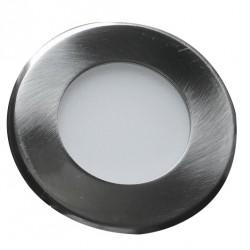 Led svítidlo vestavné Greenlux LED15 VEGA-R Matt Chrome 3W NW neutrální bílá  (GXDW210)