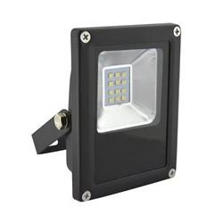 Solight LED venkovní reflektor Hobby, 10W, 600lm, AC 230V, černá (WM-10W-J)