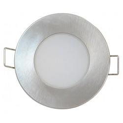 LED svítidlo Greenlux LED BONO-R Matt chrome 5W WW (GXLL024)