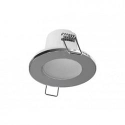 Panlux LED SPOTLIGHT IP65 5W podhled, bodovka, chrom - teplá bílá