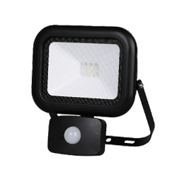 LED svítidlo s pohybovým senzorem APOLLO 230-240V 10W/840 PIR IP65 NBB