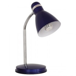 Kancelářská stolní lampa Kanlux ZARA HR-40-BL modrá (07562)