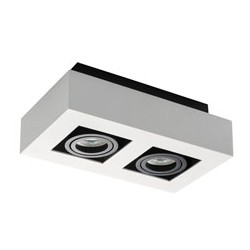 Přisazené svítidlo Kanlux STOBI DLP 250-W bílá (26833)