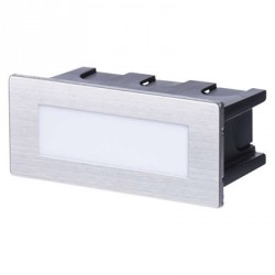 EMOS LED orientační vestavné svítidlo 123×53, 1,5W tep. bílá IP65