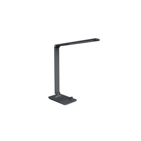 Panlux MASTER LED stolní lampička s bezdrátovým nabíjením šedá