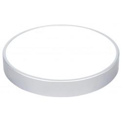 Přisazené svítidlo Greenlux LED TAURUS-R Silver 16W NW (GXPS033)