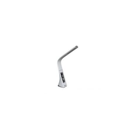 PANLUX LORD LED stolní lampička, bílá kůže - neutrální
