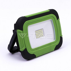 LED reflektor nabíjecí V-TAC 20W-Plastic rechargeable floodlight -IP44-6400K LED by SAMSUNG , VT-20-R