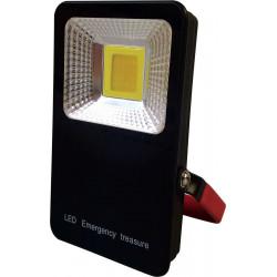 Bateriový přenosný LED reflektor Greenlux LED MCOB POCKET BATTERY 10W (GXLR003)