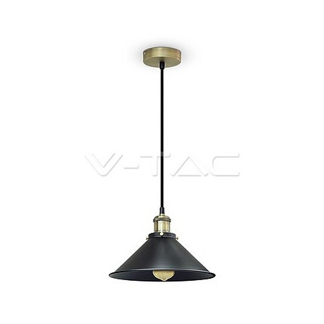 Metal Pendant Light Black, VT-7424