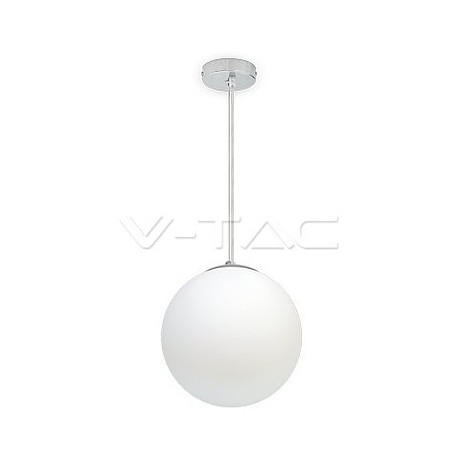 Pendant Glass Chrome, VT-7251