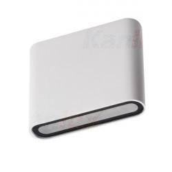 Nástěnné svítidlo LED Kanlux GARTO LED EL 8W-W IP54 bílá (29271)