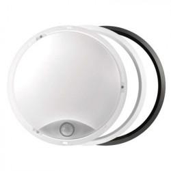 EMOS LED přisazené svítidlo s pohyb. čidl., kruhové č/b 14W t.b.