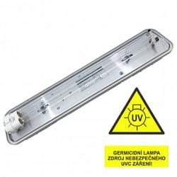 Svítidlo VICTORIA IP20 GERMICID UVC 254 nm 1x18W (kompletní zářič UVC)