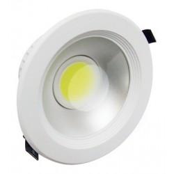DOPRODEJ - Svítidlo Led vestavné Greenlux  LED MCOB LYRA White 30W CW studená bílá - doprodej (GXDW030)