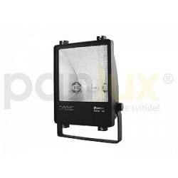 Panlux MOSTRA DS metalhalogenový světlomet 70W asymetrický, černá