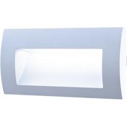 AKCE vestavné Led svítidlo Greenlux WALL 20 3W GRAY WW teplá bílá (GXLL010)