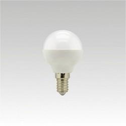 Led žárovka NARVA LQ5 LED G45 240V 5,5W E14 6000K NBB studená bílá