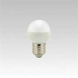 Led žárovka NARVA LQ5 LED G45 240V 5,5W E27 3000K NBB teplá bílá