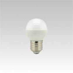 Led žárovka NARVA LQ5 LED G45 240V 5,5W E27 6000K NBB studená bílá