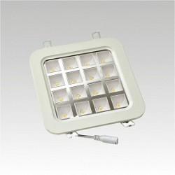 Led svítidlo NARVA ICARUS LED QUADRO 16W COOL IP40 studená bílá