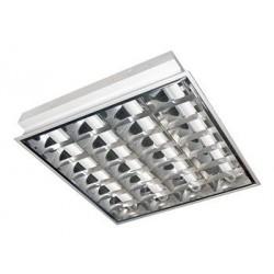 Zářivkové svítidlo Greenlux ARIES EVG 4x18W vestavné (GXRV001)