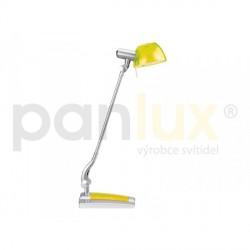 AKCE - Panlux GINEVRA UNO stolní lampička, žlutá