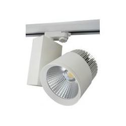 LED reflektor na lištu  30W,  2750 lm, stříbrný, teplá bílá 3000K