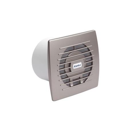 Ventilátor Kanlux CYKLON EOL 100B SF stříbrný (70973)