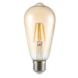 LED žárovka Kanlux ST64 FILLED 6W 650lm E27-WW teplá bílá (26041)