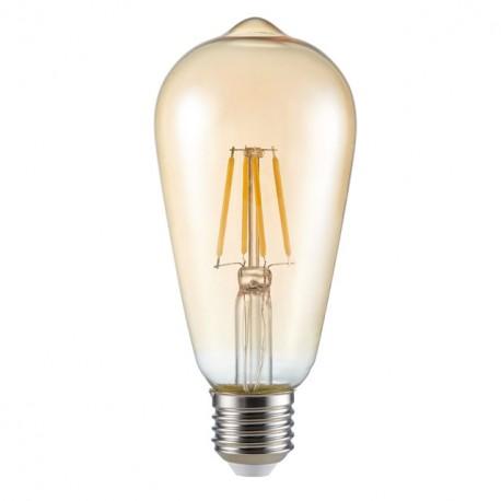 LED žárovka Kanlux ST64 FILLED 6W E27-WW teplá bílá (26041)