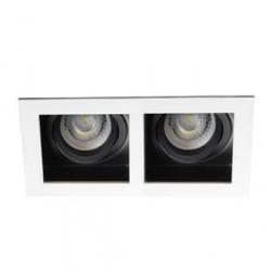 Bodové svítidlo Kanlux ARET 2XMR16-W bílá (26723)