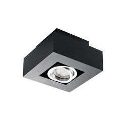 Přisazené svítidlo Kanlux STOBI DLP 50- černá (26830)