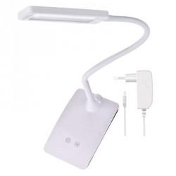 EMOS LED stolní lampa Eddy, bílá