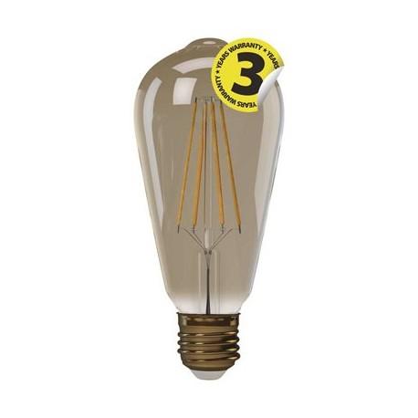 EMOS LED žárovka Vintage ST64 4W E27 teplá bílá+