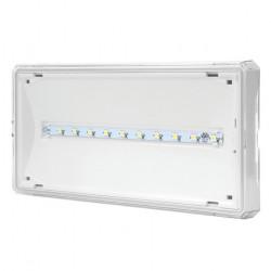 Nouzové svítidlo Modus OZN/ETS/1W/E/1/SE/X/WH EXIT S 1W LED 120 lm BASIC IP65 1h
